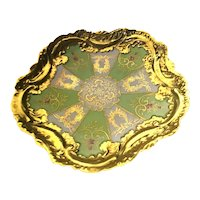 Limoges Rococo Heavy Gold Plate