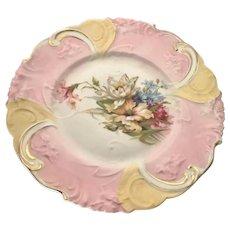 RS Prussia Art Nouveau Plate