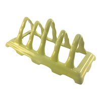 Art Deco Czechoslovakia Porcelain Toast Rack