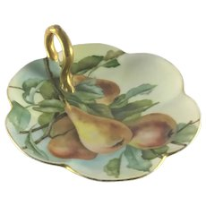 Limoges French Lemon Server Pears