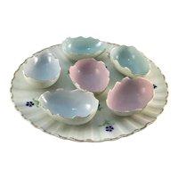Vintage Porcelain Broken Egg Plate