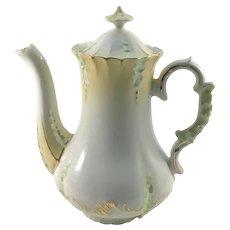 Child's Miniature Porcelain Tea Pot c. 1890