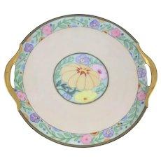 Bavaria Art Deco Double Handle Plate