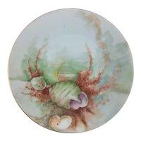 Bavaria Seafood Fish Plate Sea Shells & Kelp
