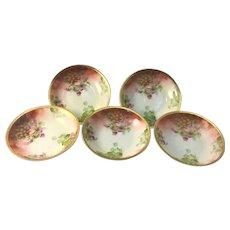 Austria Set of Five Individual Berry Bowls Grapes