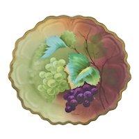 Bavaria White and Purple Grapes Plate