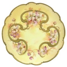Pickard Limoges Plate Signed Maxwell Rean Klipphahn