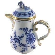 Meissen Blue Onion Teapot