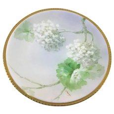 Ginori Oakleaf Hydrangeas Plate