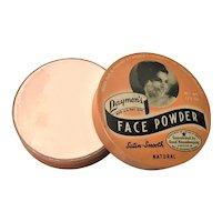 Sealed Vintage Laymon's Face Powder Tin