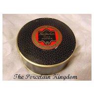 Vintage Max Factor Hollywood face powder box 1938