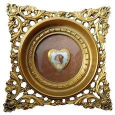 Cameo Creations Framed Porcelain Plaque