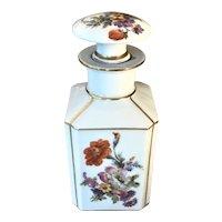 Erphila Germany Large Porcelain Perfume Bottle C.1910