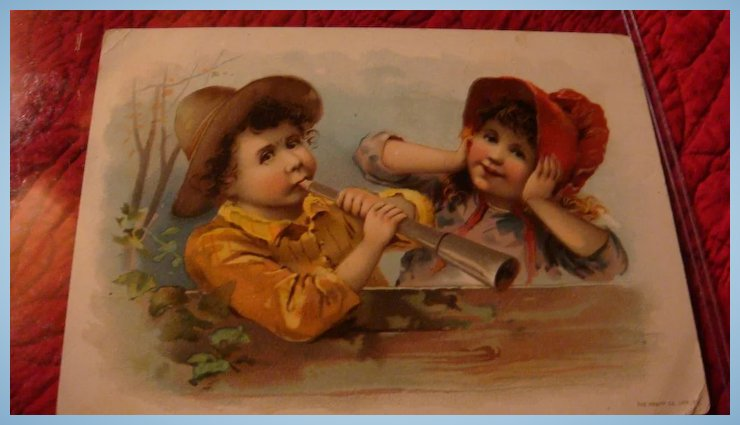 Oversized 1893 advertising greeting card lion coffee knapp co oversized 1893 advertising greeting card lion coffee knapp co the loft antiques ruby lane m4hsunfo