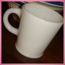 Hazel Atlas Wannabe Mug With Pedestal Rim at Bottom Excellent