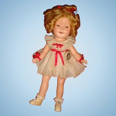 Original Clothes Shirley Temple Rare Size 11 Composition Doll 1930's No Crazing