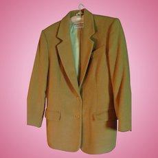 Vintage Classic Richard Evans Limited Edition 100% Camel's Hair Jacket Size 10 Blazer Coat