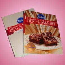 Like New 1996 Pillsbury Best of the Bake Off Cookbook Hardback with Dust Jacket