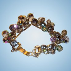 Classic Juliana Fantasia Bracelet Black Diamond Bead With Chatons Book Piece