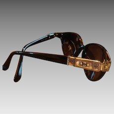Like New Black and Silver Brighton Designer Sunglasses