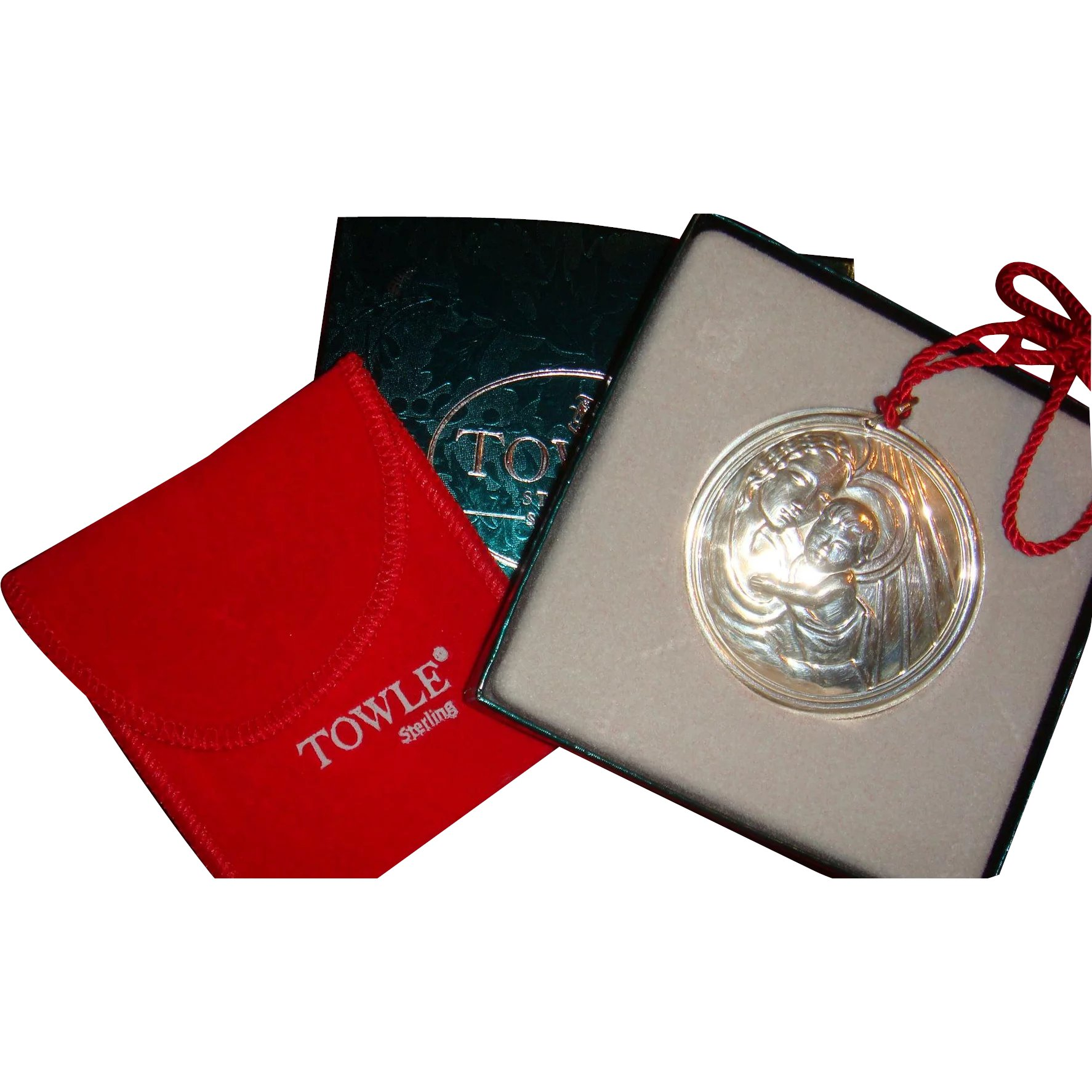 1993 Towle Sterling Silver Boxed Christmas Ornament ...
