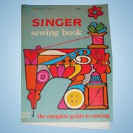 Unused Singer Sewing Book 1972 Revised Edition Complete Guide to Sewing