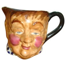 Thorley Bone China Fat Boy Toby Mug or Creamer Made in England