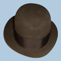 Vintage Like New Dobbs Charcoal Grey Fedora Hat IL Estate