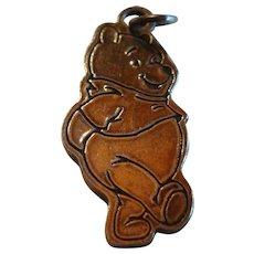 Sterling Silver  Disney Winnie The Pooh Bear Charm