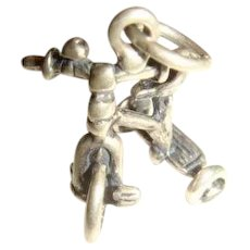 Sterling Silver Tricycle Charm