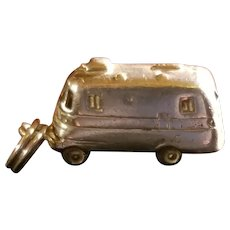 Vintage Bus, Van, Camper, Air Stream Sterling Silver Charm