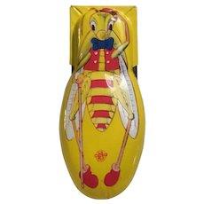 Vintage Tin Patriotic Cricket Clicker U.S. Metal Toy Mfg. Co. Party Fun