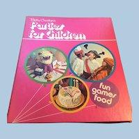 Betty Crocker's Parties for Children Hardback Book 1964 / 1972