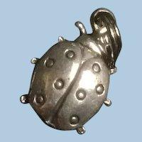 Sterling Silver Ladybug Charm