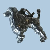 Sterling Silver French Poodle Charm