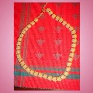 Vintage Napier Gold Tone Necklace 41 Links