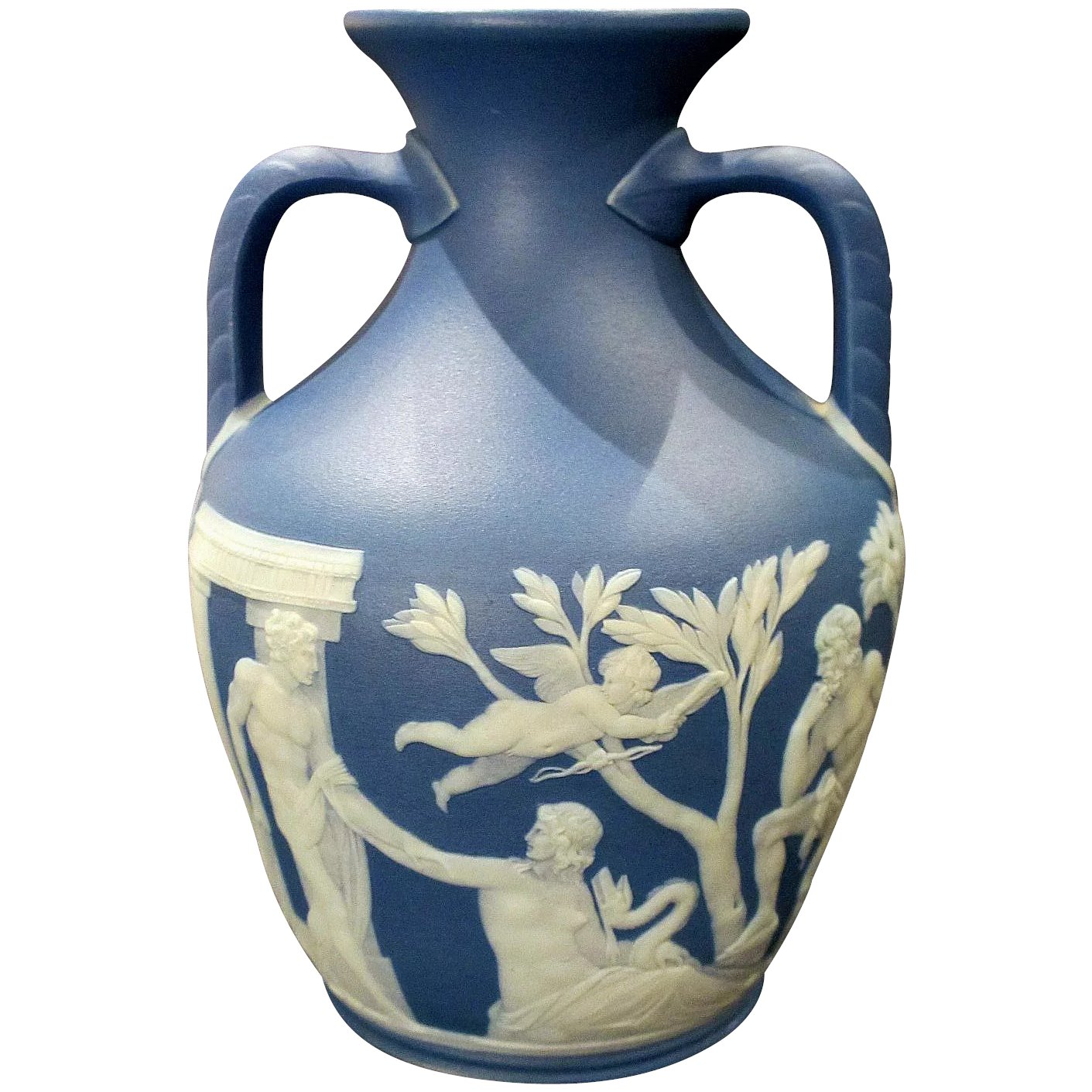 19th century wedgwood jasperware portland vase mint condition 19th century wedgwood jasperware portland vase mint condition click to expand reviewsmspy