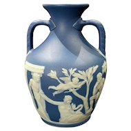 19th Century Wedgwood Jasperware Portland Vase Mint Condition