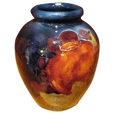 Vintage Moorcroft Pottery Pomegranate Vase