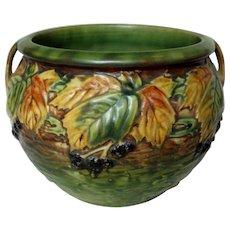 Roseville Pottery Blackberrry Jardiniere 423-6