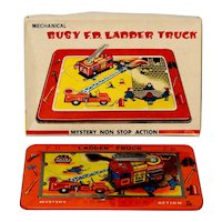 TPS Busy F.D. Ladder Truck Windup with Box