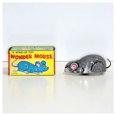 Yone Tin Windup Wonder Mouse with Box