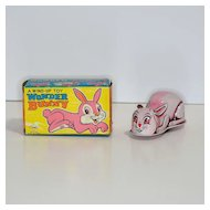 Yone Tin Windup Wonder Bunny with Box
