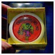 Duncan Magic MotionThe  Incredible Hulk Yo-Yo Mint in Box
