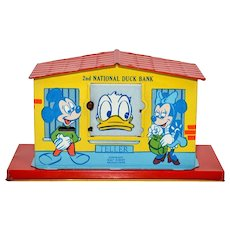 Chein 2nd National Duck Tin Bank