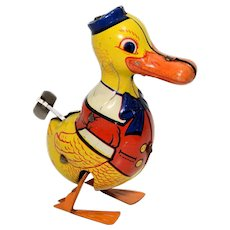 Chein Large Duck Tin Wind Up