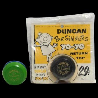 Duncan Beginner #44 Yo-yo- Mint in Package plus One