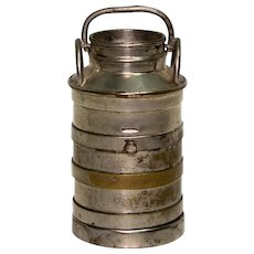 Traveling Inkwell Milk Churn Shape