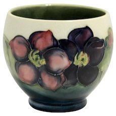 Moorcroft  Small Bowl with Clematis Pattern