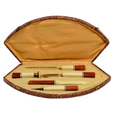 Early 20th Century Art Deco Writing Set